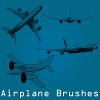 Airplane Brushes by remygraphics