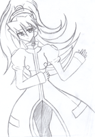 MMZX Sexy Ciel by HunterFusion