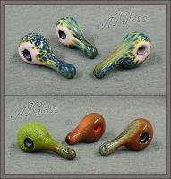 Exotic Duckies by AJGlass