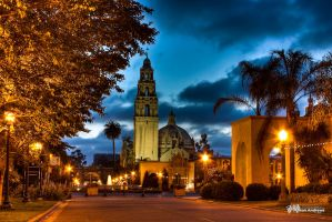 Balboa Park at Night by Milton-Andrews