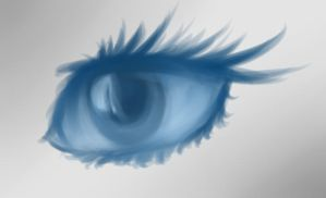 Eye See Blue by AdenChan