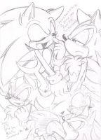 A Big Wet One for Sonic by Narcotize-Nagini