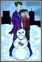 Batsy the Snowman by ShredSmiler
