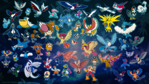 Pokemon Birds Wallpaper