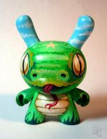 Green Mamba Dunny by bryancollins
