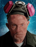 Mike Ehrmantraut by Rapsag