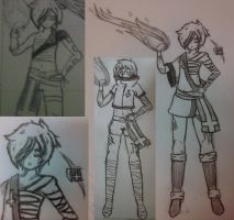 New character sketch dump 1 by Quiet-Retribution