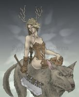 My Very Own Warg by SympatichnaCzarina