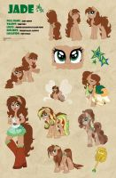 Jade Reference Sheet by Drawing-Heart