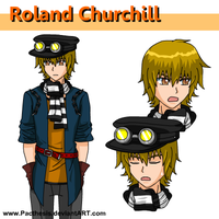 Roland character sheet by Pacthesis