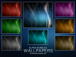 Alpha Bubbles Wallpapers by amine5a5