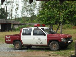 Nissan Frontier Patrol Car by pete7868