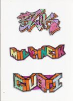 Stickers 24 by VHS-Guri