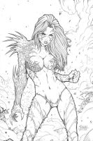 Witchblade by jkrojmalart