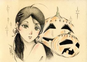 Halloween 09 by GisaPizzatto