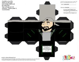 AS3: Silent Bob Cubee by TheFlyingDachshund