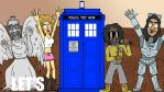 Let's Get The Tardis - Doctor Who gif animation by artbylukeski