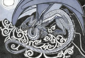 Celtic Dragon by impluvium