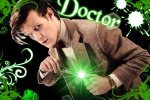 The 11th Doctor Wallpaper by Chrisily