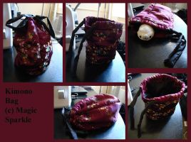 Sewing Project: Kimono Bag by StudiousOctopus