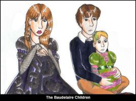 The Baudelaire Children by bachel60