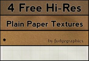 Plain Paper Textures by fudgegraphics