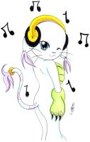 Musical Kitty by Lily22022009