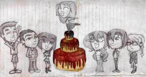 School doodles 48 Birthday Special by Number-14