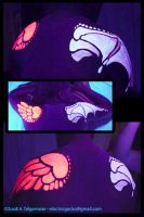 UV shoulder wings by kattything