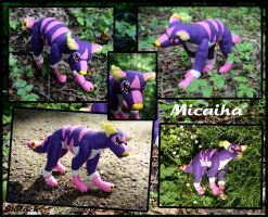 Micaiha Plushie Finished by AzureHowlShilach