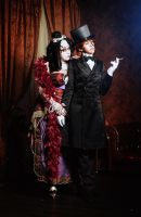 Trinity blood manga cosplay - Jane and Mary by alberti