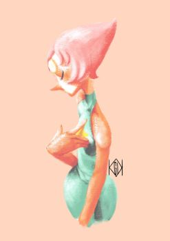 Pearl - Steven Universe by BlackCrow06