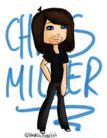 ::GA:: Chris Miller Chibi by littleblackmariah