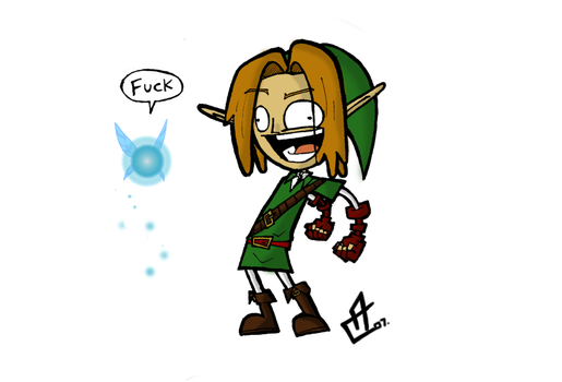 LINK by ComicMasterX