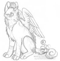 Subeta Pet Sketch by SD-DreamCrystal