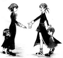 Crona and Maka -again- by xX-----Xx