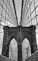 Brooklyn Bridge by lesley-oldaker