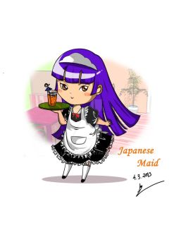 Japanese Maid by Lad1991
