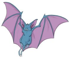 ...pogheys... Zubat by Rainbow-Cemetery