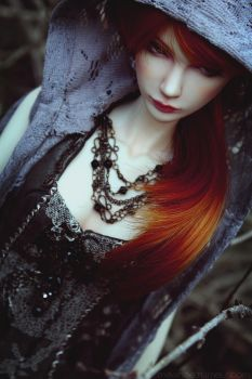 The red Witch II by Meanae
