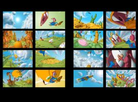 Les Amis Frames by OlivierBrisson