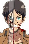 eren jeager fanart by Guilcosplay