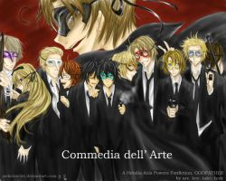 HETALIA: Commedia dell'Arte by nekolawliet