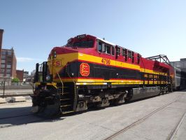 Kansas City Southern 4790 by metalheadrailfan