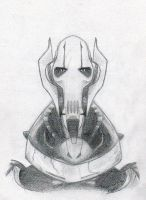 general grievous by Horsehuggingdragon