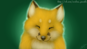 Fox by Evelinapoodle