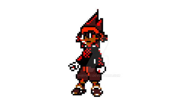 PKMN GBC Sprite Attempt #2: Trainer by shiryu67