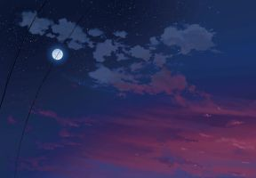sky night wallpaper by thegamerpr0
