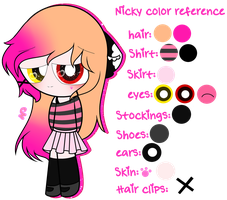 ~Nicky Color Reference by Nini-the-kitty