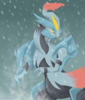 White Kyurem by Fuuga2